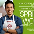 Learn the art of the spring roll with <i>MasterChef</i>'s Francis Biondi