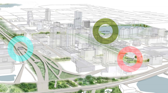 And finally, in Future Orlando, we will finally have a name for that area underneath I-4 where everyone parks their cars – we will call it the Bridge District. And things will finally feel complete.