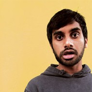 It's a bird! It's a plane! It's brown Superman with a beard! Aziz Ansari comes to UCF!