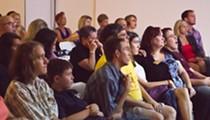 J. Bradley, Jose Fajardo and others present at PechaKucha Night Orlando v9