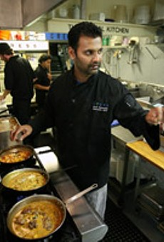JBF Kitchen Cam: Watch local chef Hari Pulapaka cook dinner at New York's vaunted James Beard House