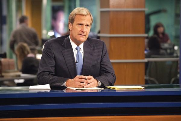 Jeff Daniels in The Newsroom