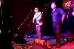 Jon Snodgrass & Austin Lucas at Will's Pub (photo by Ashley Belanger)