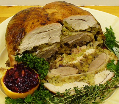 Just go HAM and make a turducken.