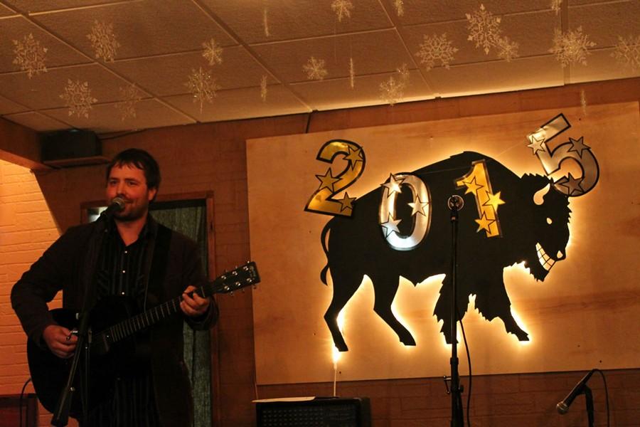Justin Beckler at Beth McKee's First Thursdays Songwriter Series - ASHLEY BELANGER
