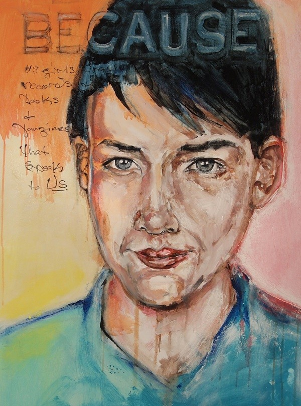 'Kathleen Hanna' by Tracy Burke