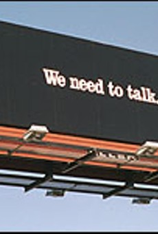 Let there be billboards
