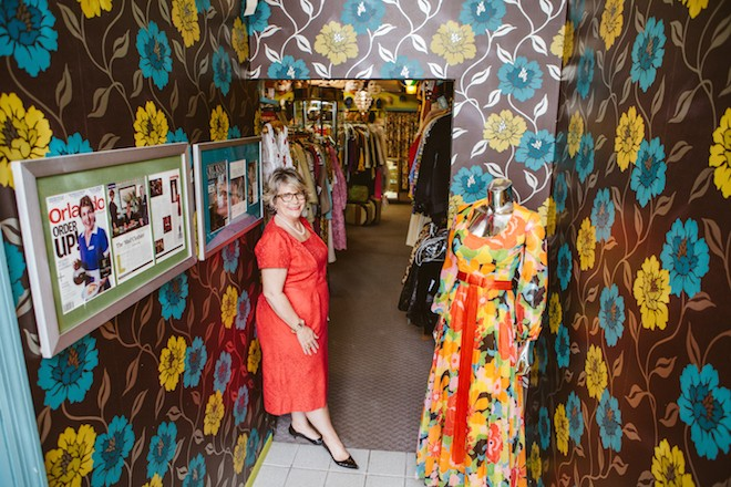 Lisa Smith, owner of Orlando Vintage Clothing and Costumes - HANNAH GLOGOWER