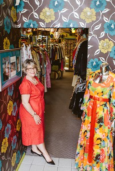 Lisa Smith, owner of Orlando Vintage Clothing and Costumes