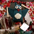 Local artisans sell wares at the Sparkle Handmade Holiday Market