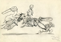 LOLCats have nothing on old Disney sketches.