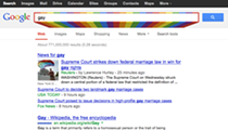 """Look what happens when you Google the word """"gay"""" today"""