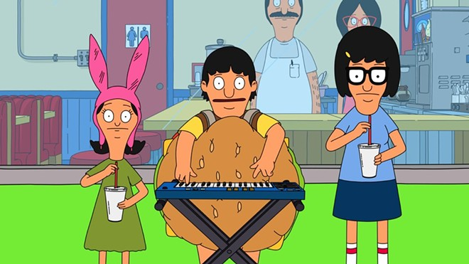 "Louise, Gene and Tina Belcher perform ""Strawesome"" as Itty Bitty Ditty Committee - VIA FOX"
