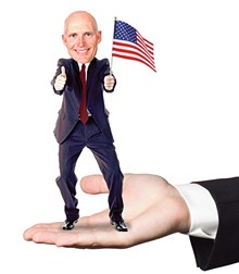 ma-scott: Florida's new governor will make an excellent pocket friend
