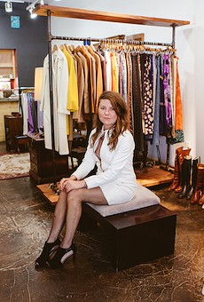 Makenna Whiteside, owner of Postmarket Vintage