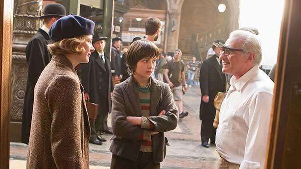 Martin Scorsese (far right, obvs)