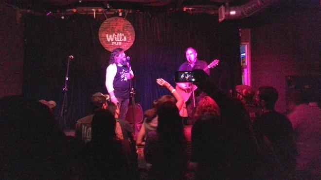 Matt Woods & Austin Lucas at Will's Pub