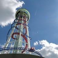 Meet the world's tallest roller coaster, Skyscraper