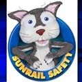 Meet Tie, the crazy-eyed, anxious SunRail Safety Squirrel