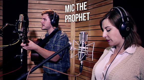 Mic the Prophet at North Avenue Studios - NORTH AVENUE STUDIOS