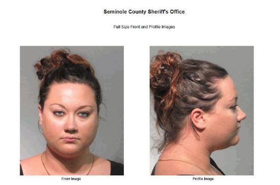 Mugshot of Shellie Zimmerman