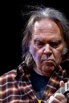 Neil Young's upcoming album will be named after agribusiness giant Monsanto
