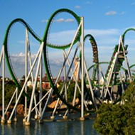 Incredible Hulk rollercoaster at Universal Orlando's Islands of Adventures stalls, stranding riders