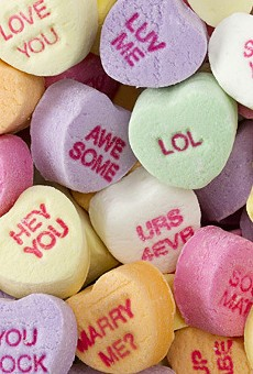 Please don't eat these words: Best NSFW #RejectedCandyHearts