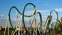 Incredible Hulk rollercoaster at Universal Orlando's Islands of Adventures stalls, stranding riders