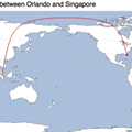 Friday afternoon time killer: Find out how far it is from Orlando to anywhere in the world