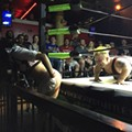 PHOTOS: Stars of Hulk Hogan's Micro Championship Wrestling at Independent Bar