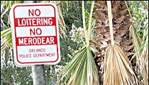 No loitering in front of Mexican consulate