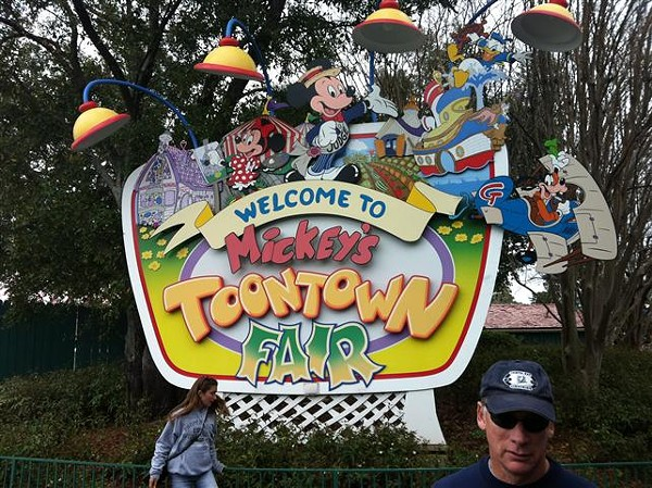 """Now it's time to say goodbye"" to Mickey's Toontown Fair at WDW"