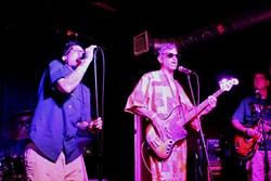 Obliterati reunites at Will's Pub (photo by Ashley Belanger)