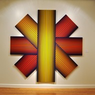 Op Art pioneer Richard Anuszkiewicz's dancing colors are like Red Bull for your retinas