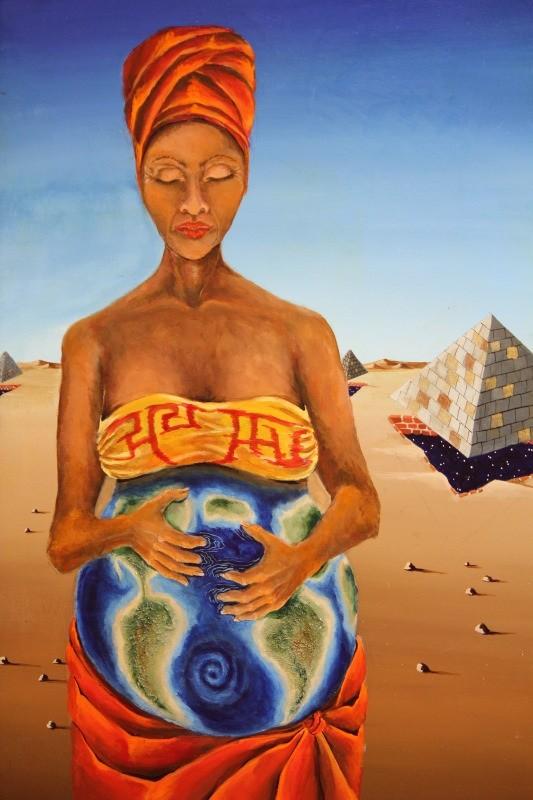'Origin of Life' by Sandra Scheetz-Wise