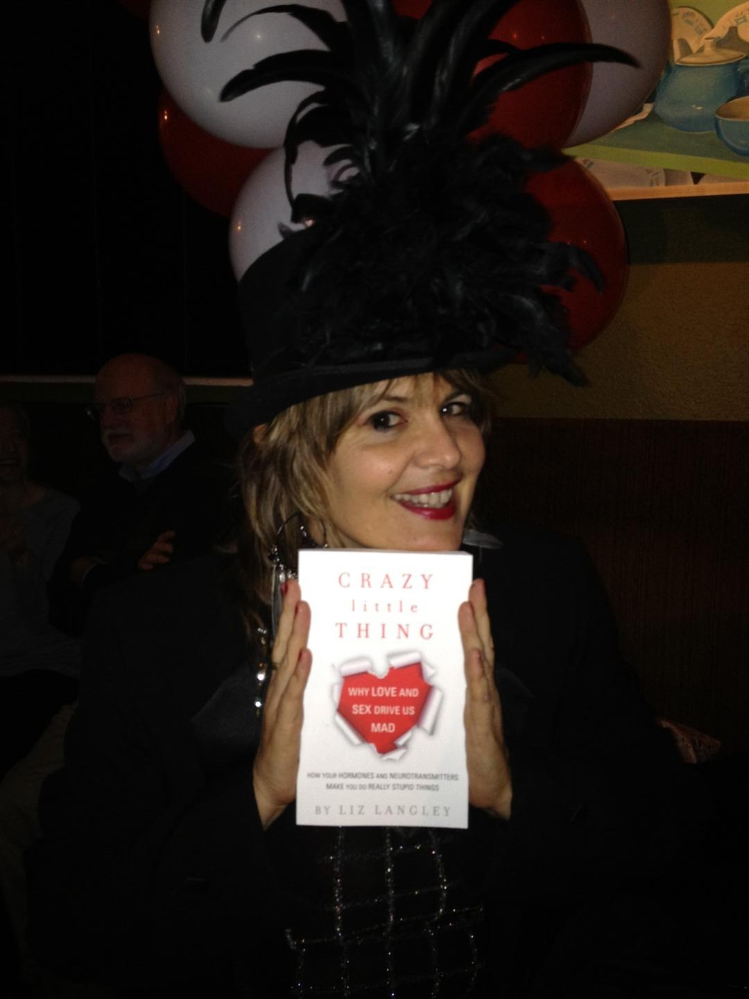 "Orlando author Liz Langley with her new book ""Crazy Little Thing"""