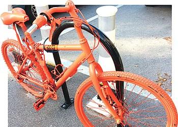Orlando doesn't suck, but the orange bikes do