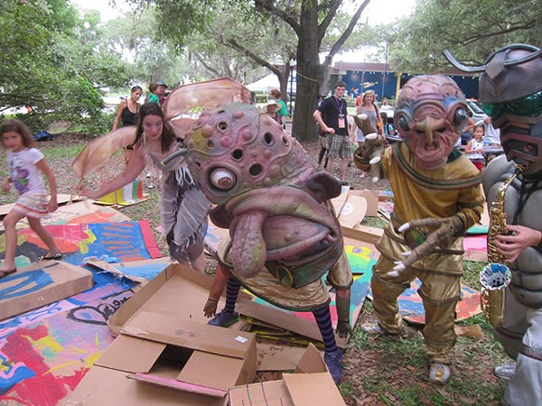 Orlando Fringe: Green lawn of fabulousness