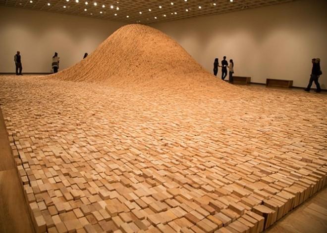 """2X4 LANDSCAPE"" BY MAYA LIN, PHOTO COURTESY PACE GALLERY AND MAYA LIN STUDIO, VIA ORLANDO MUSEUM OF ART"