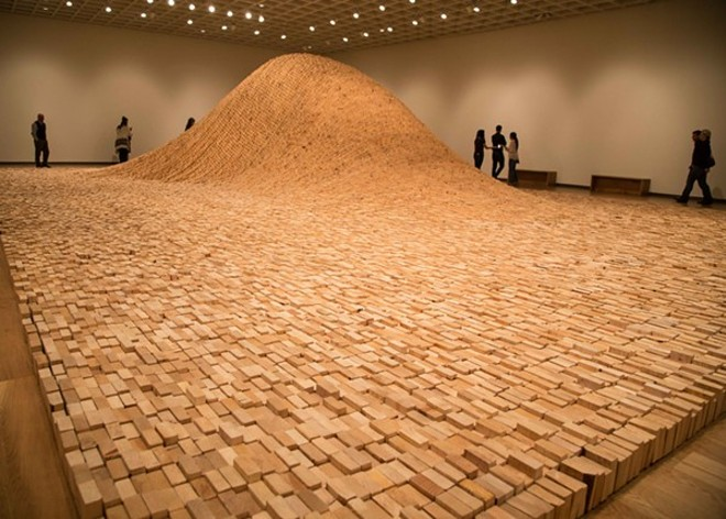 """2X4 LANDSCAPE"" BY MAYA LIN, PHOTO COURTESY PACE GALLERY AND MAYA LIN STUDIO, VIA ORLANDO MUSEUM OF ART"