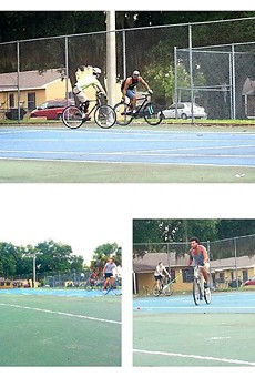 20 of your most exciting shots from Orlando Bicycle Polo