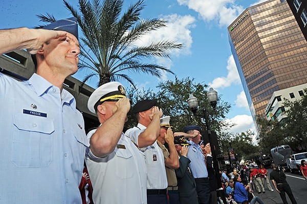 Orlando Veterans Day Parade, Downtown Orlando
