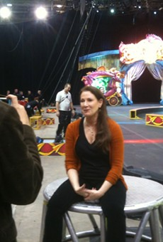 OW's Seth Kubersky interviews Ringling Bros Barnum & Bailey Circus director Shanda Sawyer