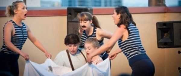 Oyster Boy (photo courtesy Haste Theatre)