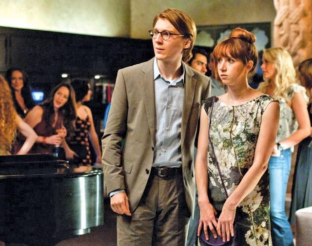 Paul Dano is smitten with his own creation, and without warning, there she is.