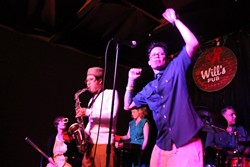 Perpetual motion: Obliterati reunites at Will's Pub (photo by Ashley Belanger)