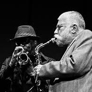 Peter Brötzmann and Joe McPhee perform at Timucua White House