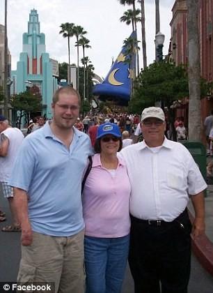 Petrozzino with his parents