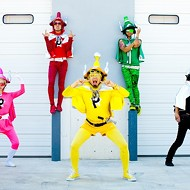 Japanese action comic punk band Peelander-Z tonight at the Social